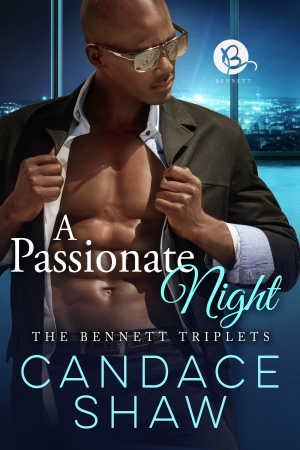 A Passionate Night Book Cover